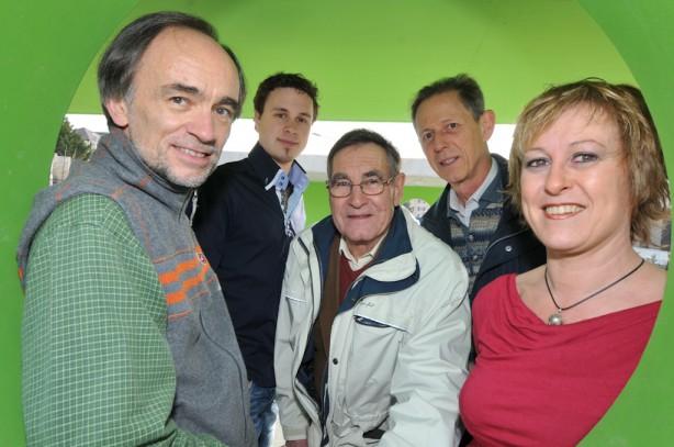 CARNAL Jacques, LIARDET Alexandre, PAILLARD Claude, GERMOND Jacques-Edouard, CAVIN Dominique